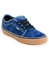 Vans Chukka Low Navy & Gum Skate Shoe