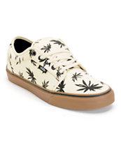 Vans Chukka Low Palms Natural, Black, & Gum Skate Shoe