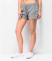 Vans DNA shorts de punto gris con cinta