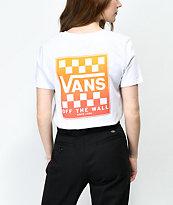 Vans Graident Box White Boyfriend T-Shirt