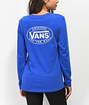 Vans Junction Surf The Web Long Sleeve Boyfriend T-Shirt