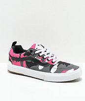 Vans Kyle Walker Pro Black   Magenta Camo Shoes  4afd4616a