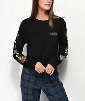 Vans Lizzie Floral Crop Long Sleeve T-Shirt