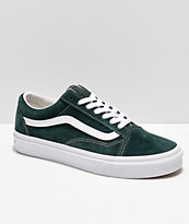 Vans Old Skool Dark Spruce Suede Skate Shoes