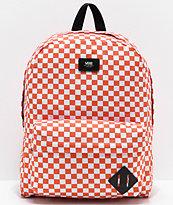 Vans Old Skool II Emberglow Checker Backpack