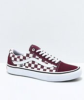 Vans Old Skool Pro Port Royal & White Checkered zapatos de skate
