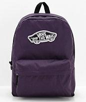 Vans Realm Mysterioso Purple Backpack
