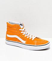 Vans Sk8-Hi Cheddar & White Skate Shoes