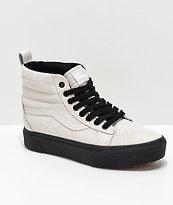Vans Sk8-Hi MTE Moonbeam & Black Platform Shoes