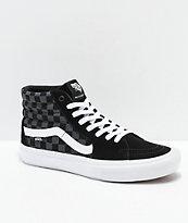 Vans Sk8-Hi Pro Reflect Black Skate Shoes