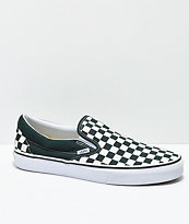 vans slip on black and white checkered