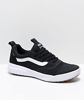 Vans UltraRange Rapidweld zapatos en negro y blanco