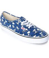 Vans X Peanuts Authentic Snoopy zapatos de skate