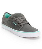 Vans x Alien Workshop Chukka Low Grey & Mint Skate Shoes