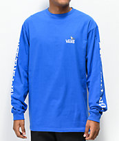 Vans x Anti-Hero On The Wire Blue Long Sleeve T-Shirt
