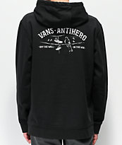 Vans x Anti-Hero On The Wire sudadera con capucha negra
