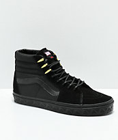 Vans x Marvel Sk8-Hi Black Panther zapatos de skate en negro y oro