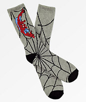 Vans x Marvel Spiderman Heather Grey Crew Socks