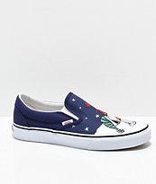 Vans x Peanuts Slip-On Charlie Tree Skate Shoes