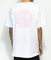 Vans x Spitfire II White & Pink T-Shirt