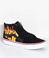 Vans x Thrasher Sk8-Hi Pro Black Skate Shoes