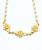 VidaKush Ring Around The Rosy Gold Choker