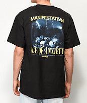 Vitriol Age Of Anxiety Black T-Shirt