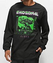 Vitriol Emotional Games Black Long Sleeve T-Shirt