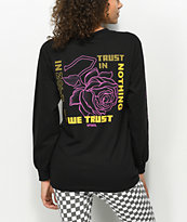 Vitriol In Nothing We Trust Black Long Sleeve T-Shirt