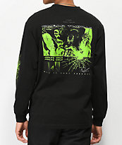 Vitriol x Robert LeBlanc Cheap Thrills Black Long Sleeve T-Shirt