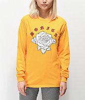 Viva La Bonita Rosa Bonita camiseta amarilla de manga larga