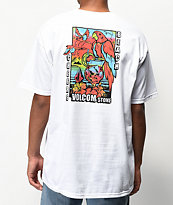 Volcom Beach Cheers camiseta blanca