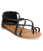 Volcom Chill Out Black Sandals
