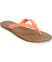 Volcom Have Fun Coral Sandals