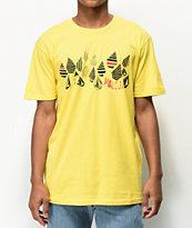 Volcom Stripe Stone camiseta amarilla