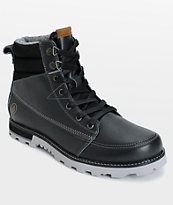Volcom Sub Zero Gunmetal Premium Leather Boots