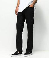 Volcom Vorta Black Out Denim Jeans