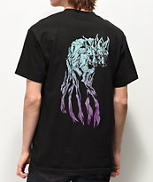 Welcome Maned Woof Black T-Shirt