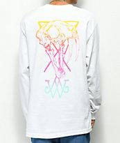 Welcome Saberskull camiseta blanca de manga larga