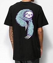Welcome Sloth camiseta negra