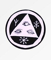 Welcome Talisman Purple Sticker