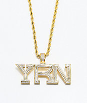YRN x The Gold Gods Piece collar de cadena de oro