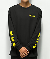 Zero Chomp Black Long Sleeve T-Shirt