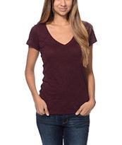 Zine Blackberry Beta V-Neck T-Shirt