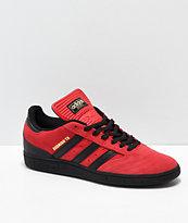 adidas Busenitz Rodrigo TX zapatos rojos y negros