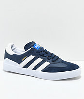 adidas Busenitz Vulc RX zapatos en azul marino y blanco
