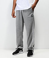 adidas Insley Grey & White Sweatpants