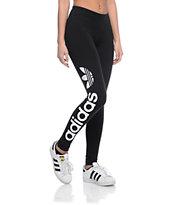 adidas Linear Logo Black Leggings