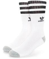 adidas Original Roller calcetines en blanco y negro