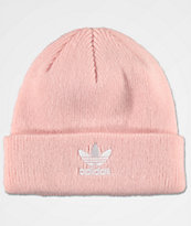 adidas Original Trefoil Icy Pink Fold Beanie